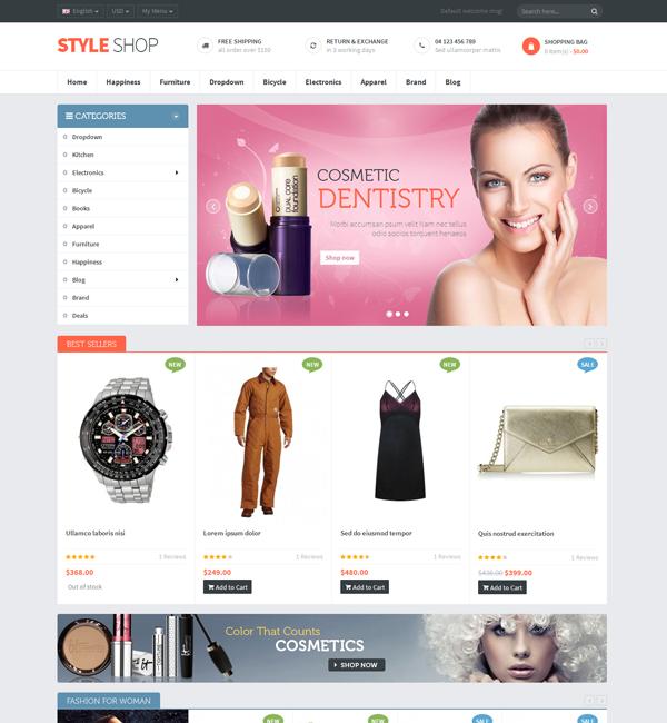 Ves Styleshop Responsive Magento Theme