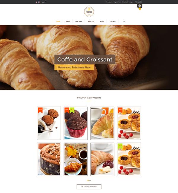 Bakery - Cakery & Bakery Magento Responsive Theme