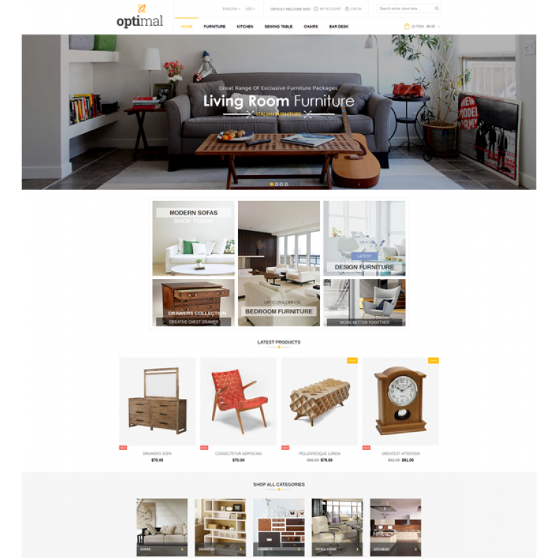 Optimal - Magento Responsive Theme