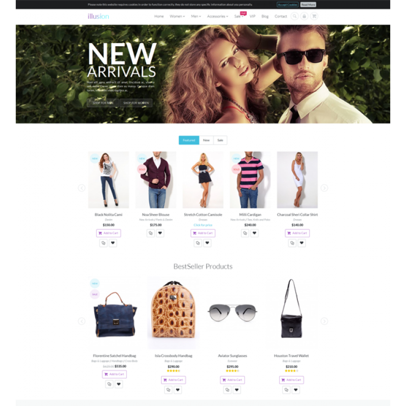 illusion - Premium Multipurpose Magento Theme